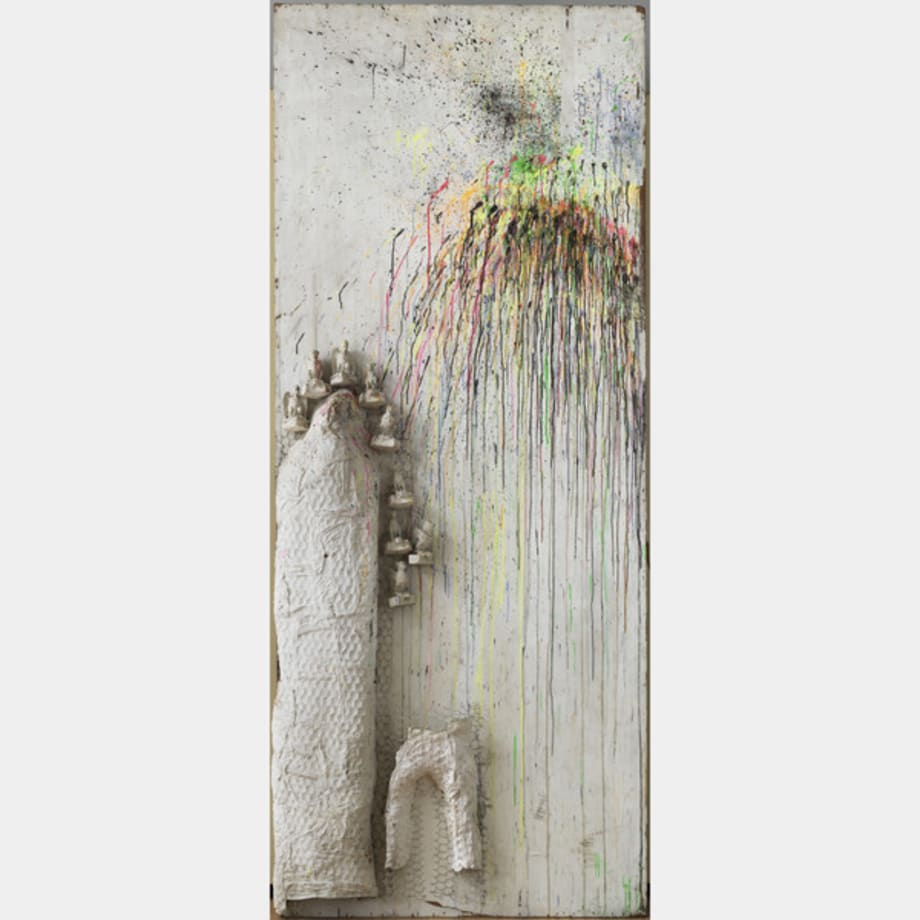 Fragment de l'Hommage au Facteur Cheval by Niki de Saint Phalle