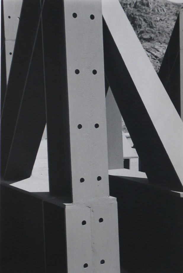 Girders, Grand Coulee Dam by Ralston Crawford