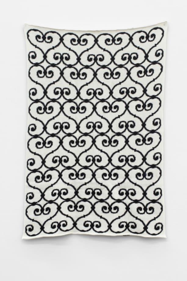 Wool Pattern Piece by Jonathan Monk