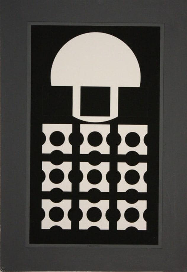 Cephei by Victor Vasarely