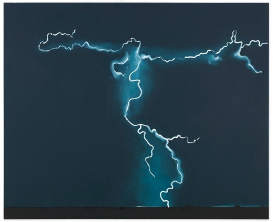 A Storm by Wilhelm Sasnal