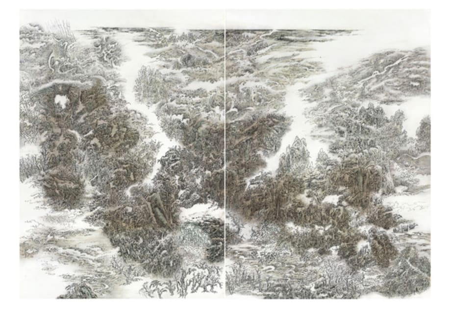 Landscape by Leung Kui-Ting