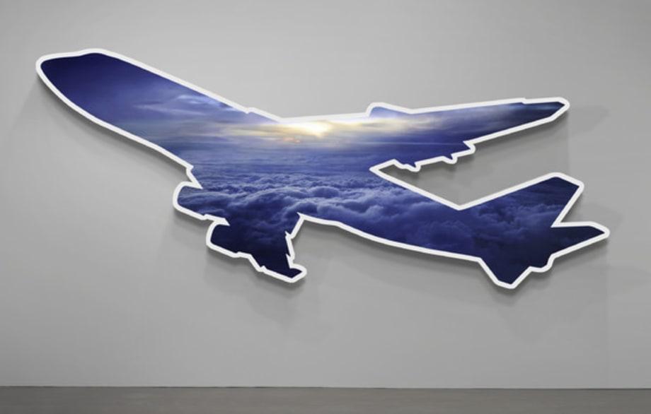 """TBD """"Cloud Plane"""" by Doug Aitken"""