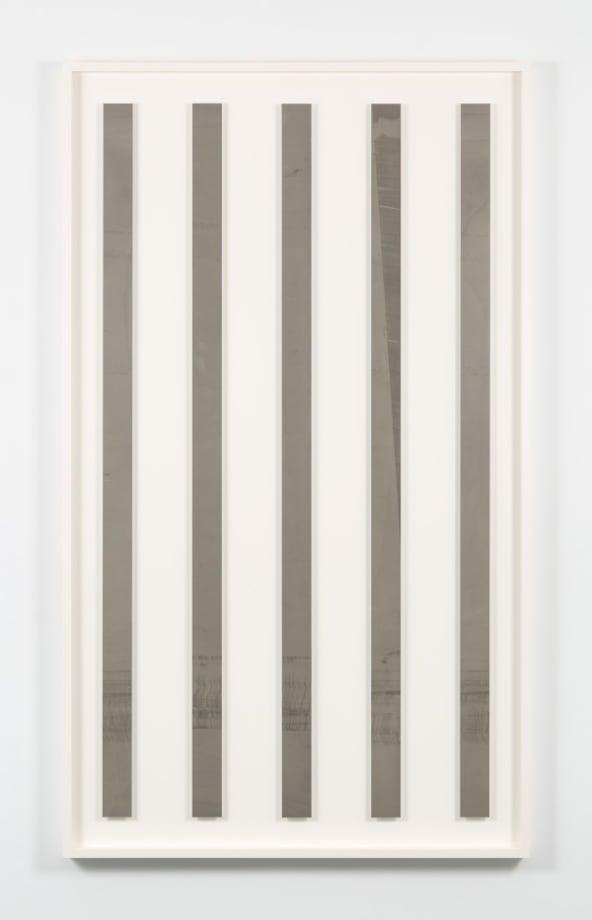 FPS (60) – 2.5 in. x 5 panels #3 by Liz Deschenes
