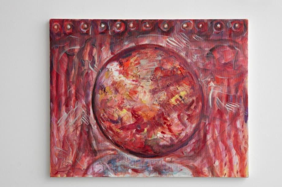 Turn and Burn 2 by Jutta Koether