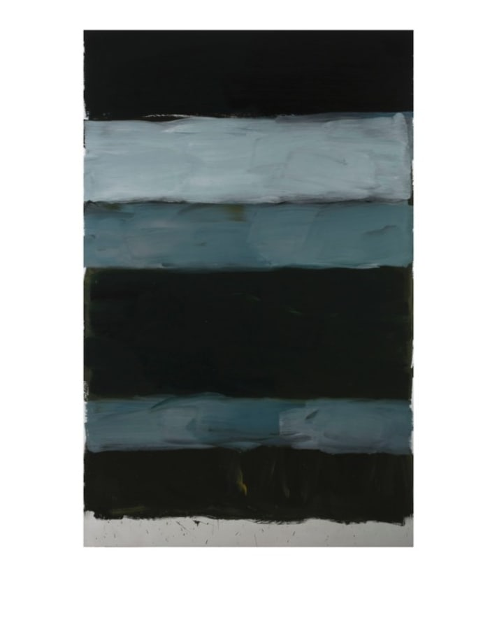 Landline Black by Sean Scully