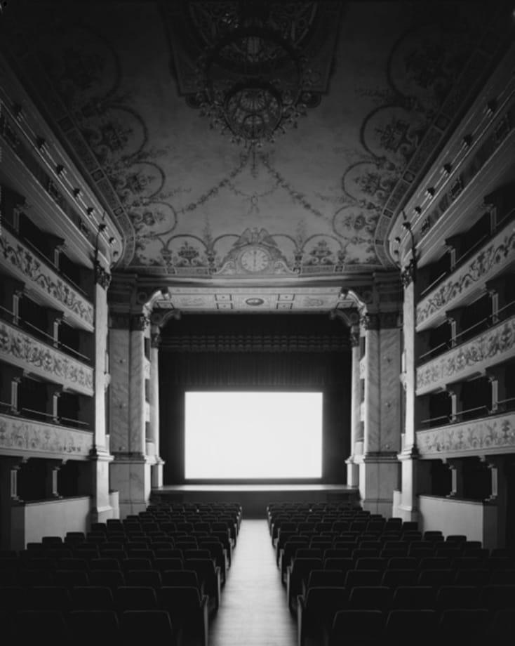 Teatro dei Rinnovati, Siena, Stazione Termini by Hiroshi Sugimoto