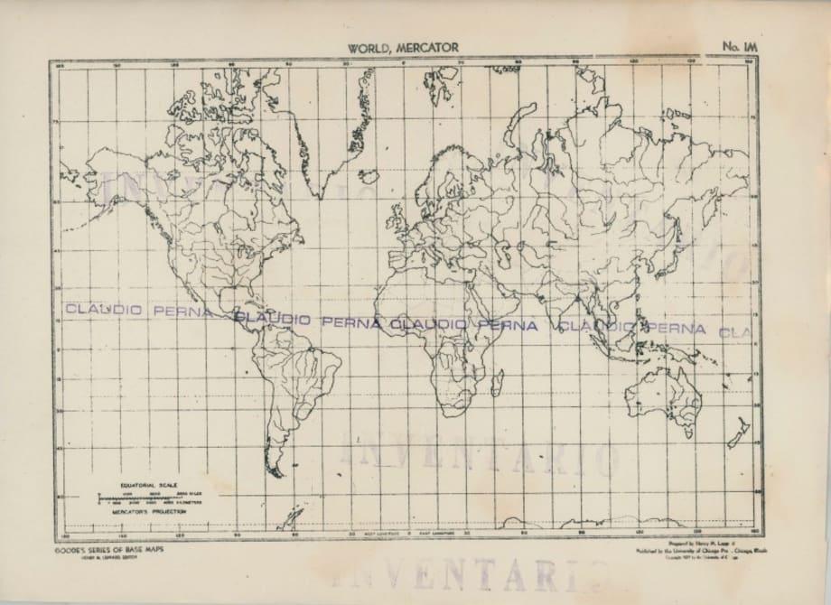 Mapa sellado Claudio Perna by Claudio Perna