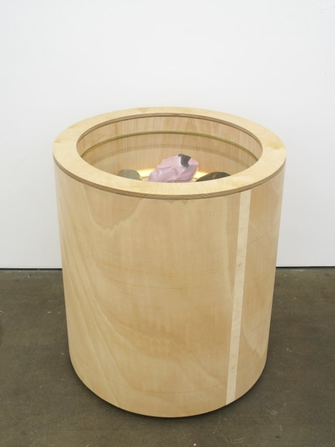Cullet bin by Christina Mackie