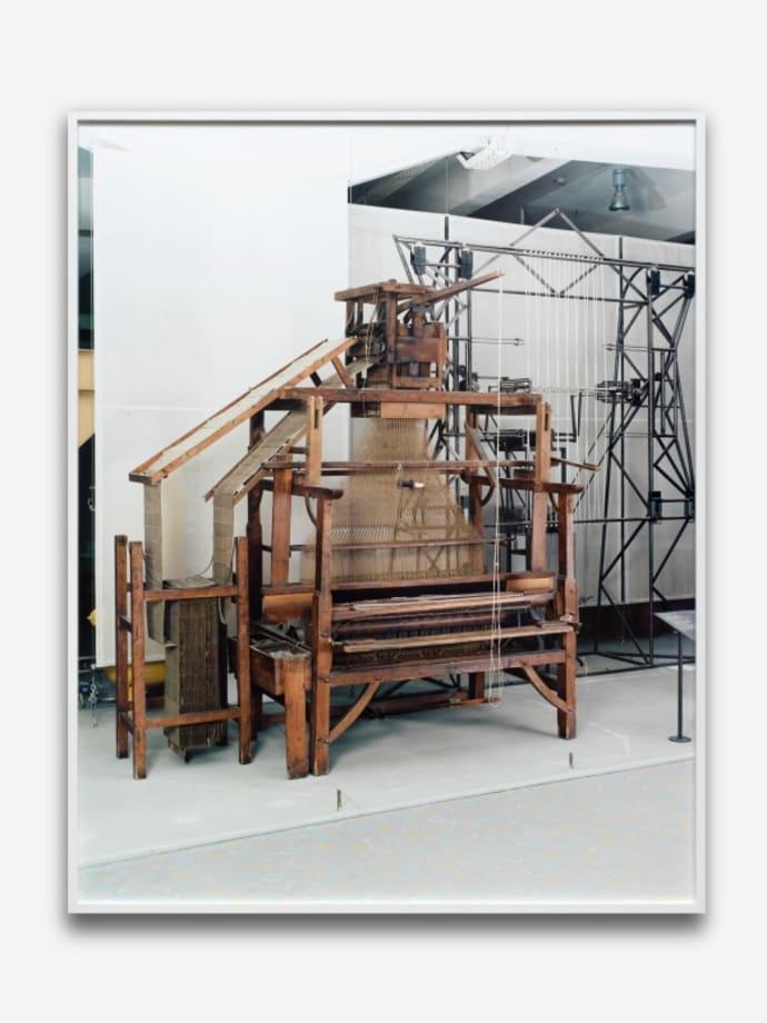 Jacquard Loom Deutsches Museum Munich by Annette Kelm