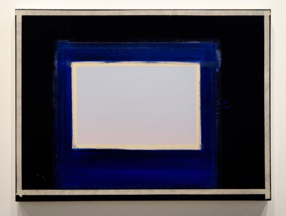 Sapphire by Sylvia Plimack Mangold