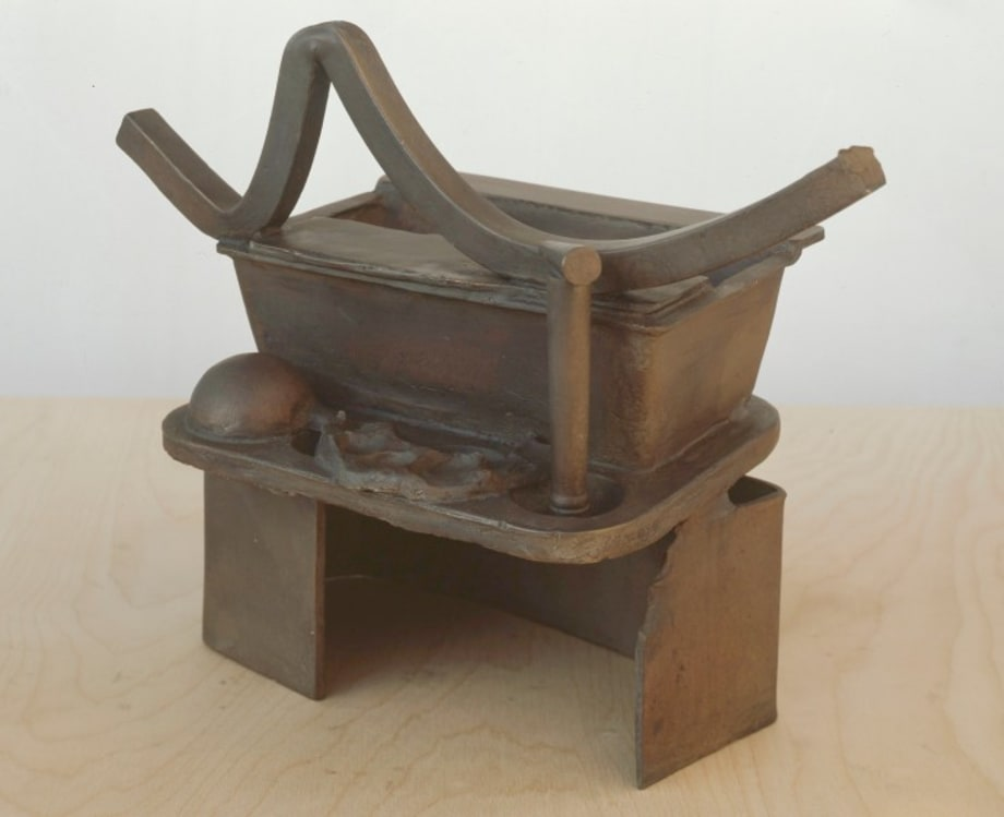 Anchor Zone (Table Bronze) by Anthony Caro