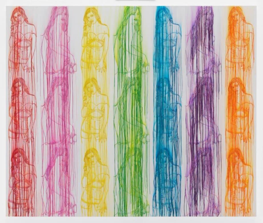 Rainbow Lulu by Ghada Amer