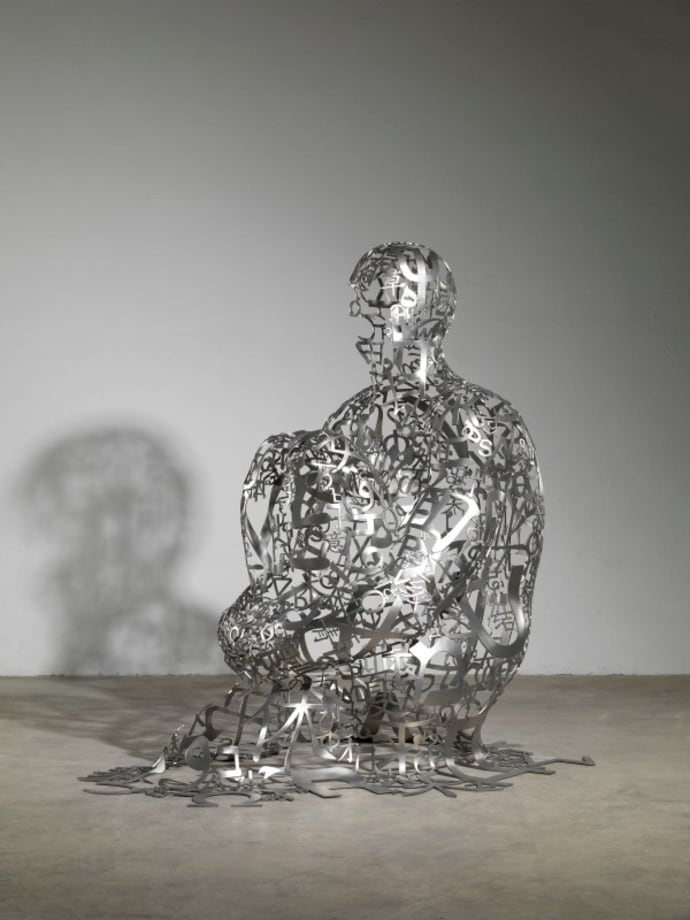Endless VII by Jaume Plensa
