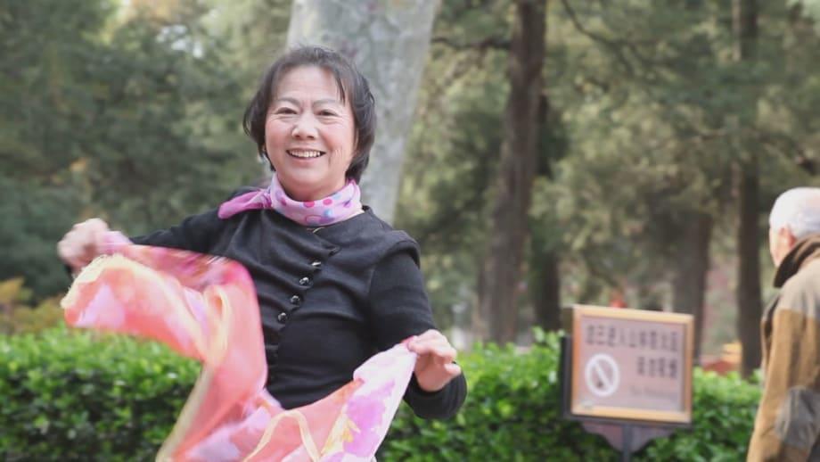 The Woman in front of the Camera by Hu Xiangqian