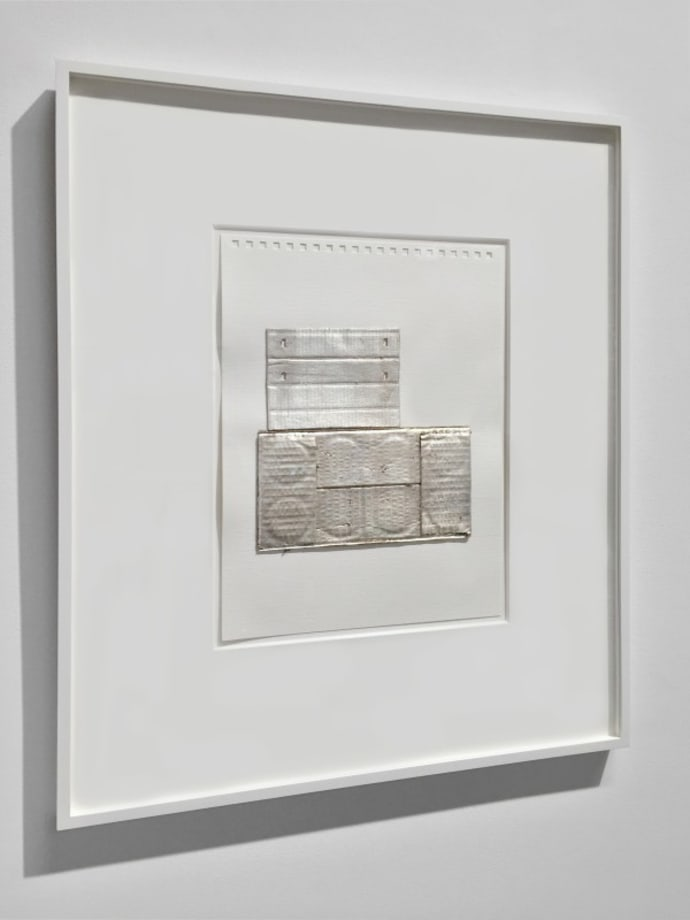 Silver Boxes by Rachel Whiteread