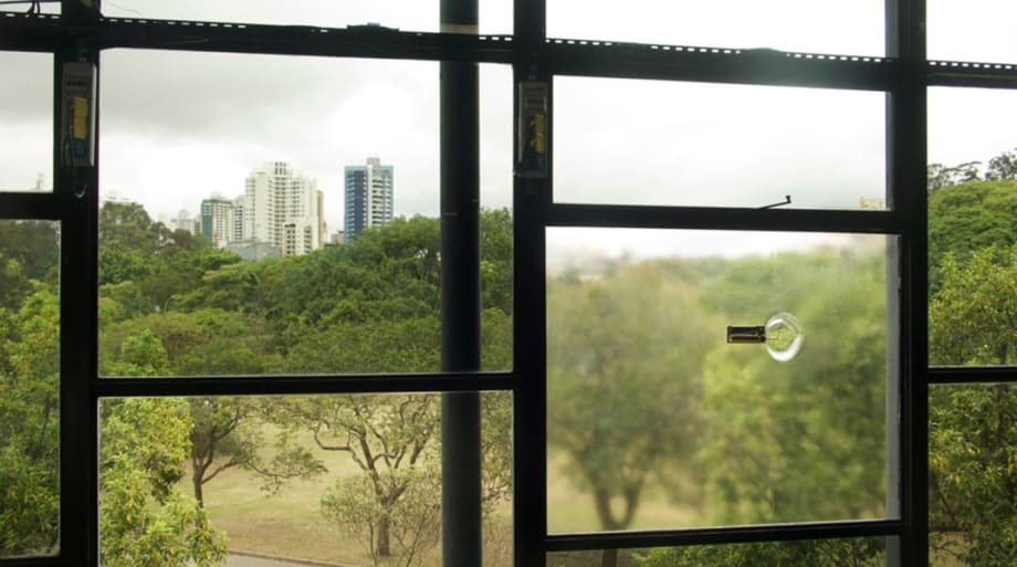 No Window No Cry, (Oscar Niemeyer, Ciccillo Matarazzo Pavilion, Sao Paulo) by Anri Sala