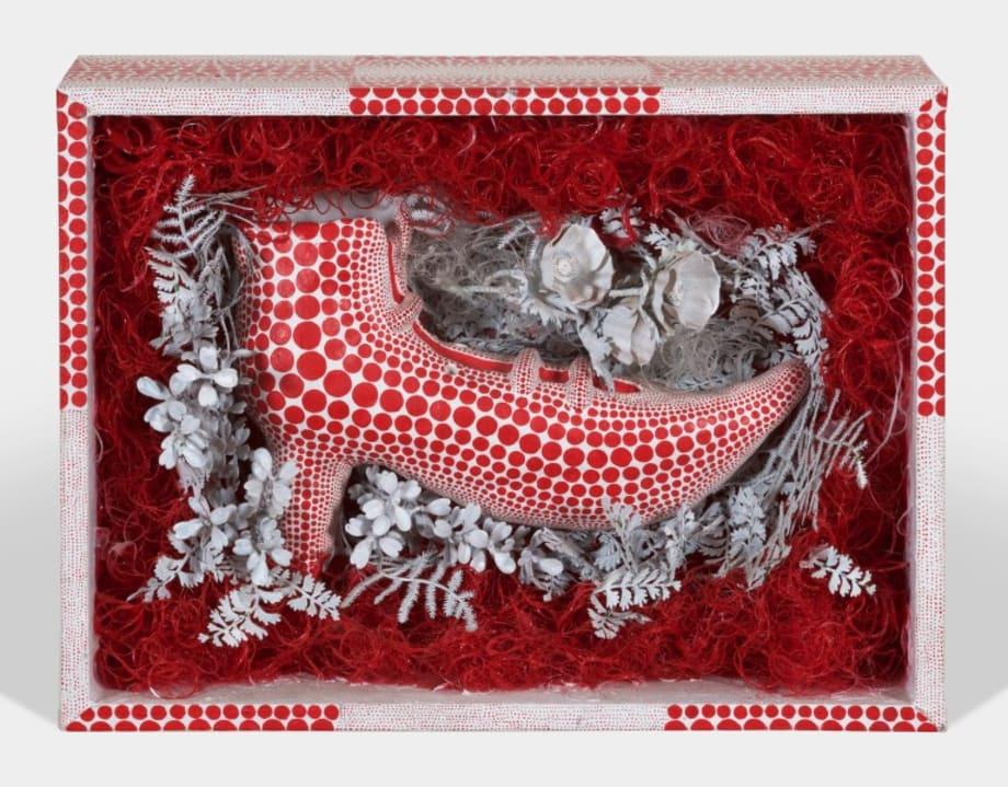 Red Shoe by Yayoi Kusama