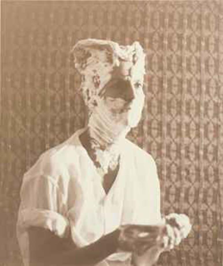 Duchamp Man Ray Portrait by Elaine Sturtevant