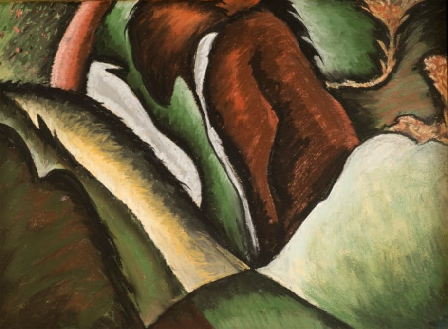 Horses Plowing on a Hill by Arthur Dove