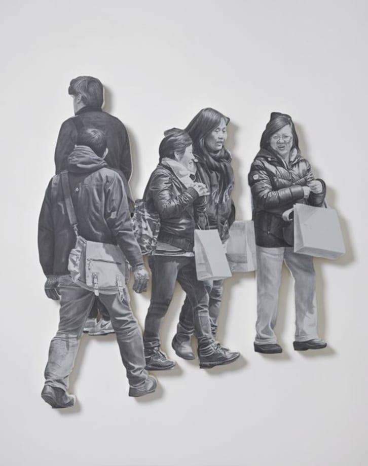 Untitled (Pedestrian Series) by John Miller