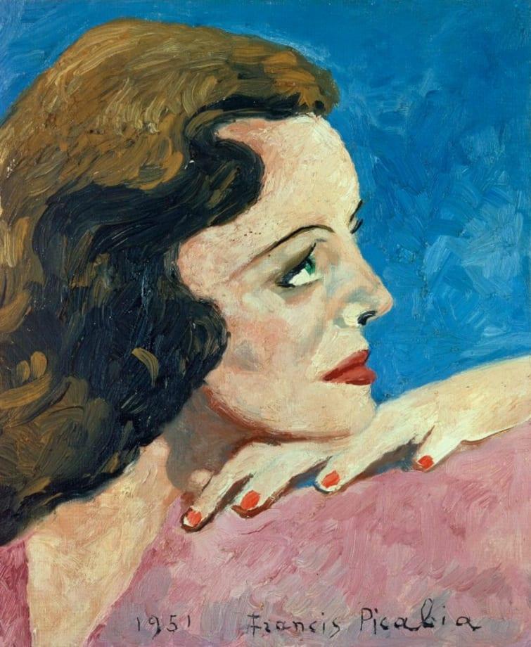 """""""Portrait de femme"""" by Francis Picabia"""