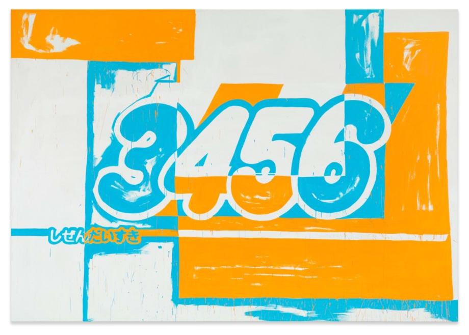 3456 by Michel Majerus