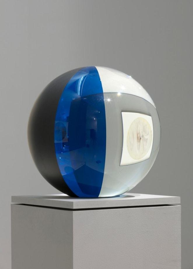 Chronobiological sphere(blue) by Olafur Eliasson