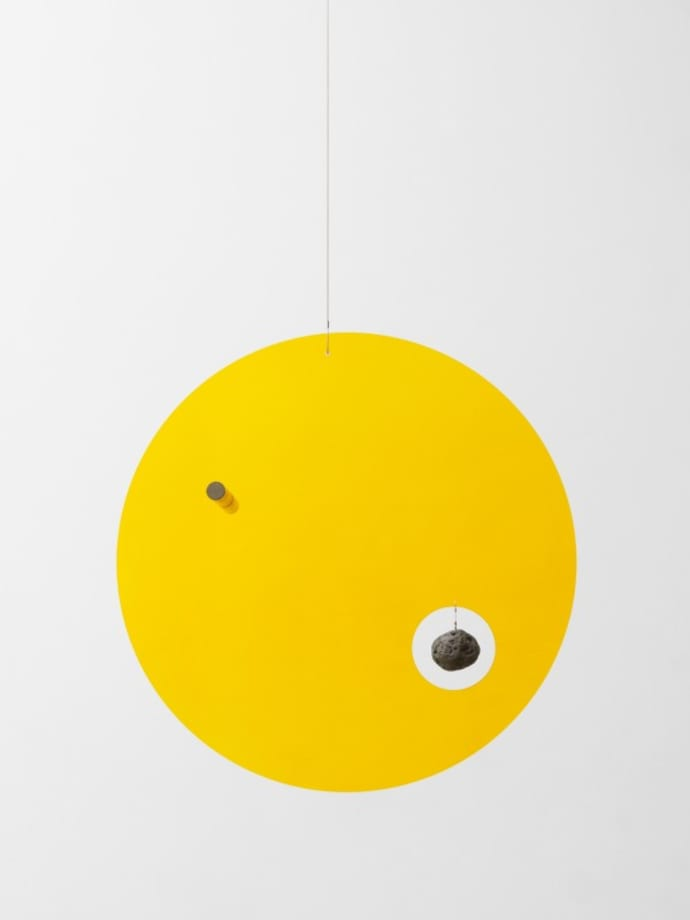 Sun rock compass by Olafur Eliasson