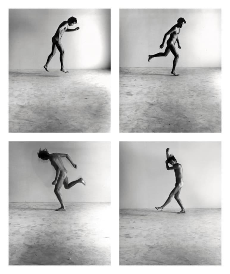 Nude Self-Portrait Series #1A, #3, #2, #4 by Peter Hujar