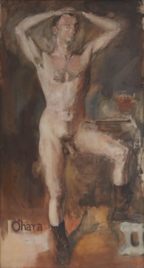 O'Hara Nude with Boots by Larry Rivers