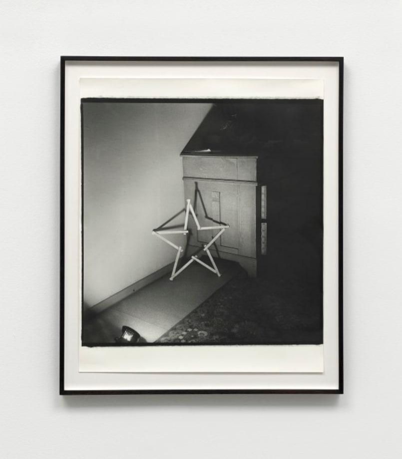 Untitled (Ruler star) by Sigmar Polke