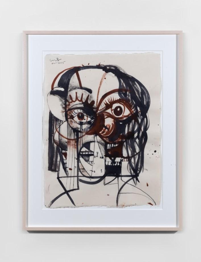 Dimensional Portrait by George Condo