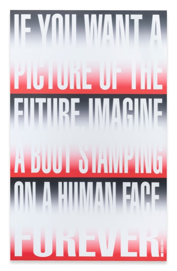 Untitled (IF YOU WANT A PICTURE) by Barbara Kruger
