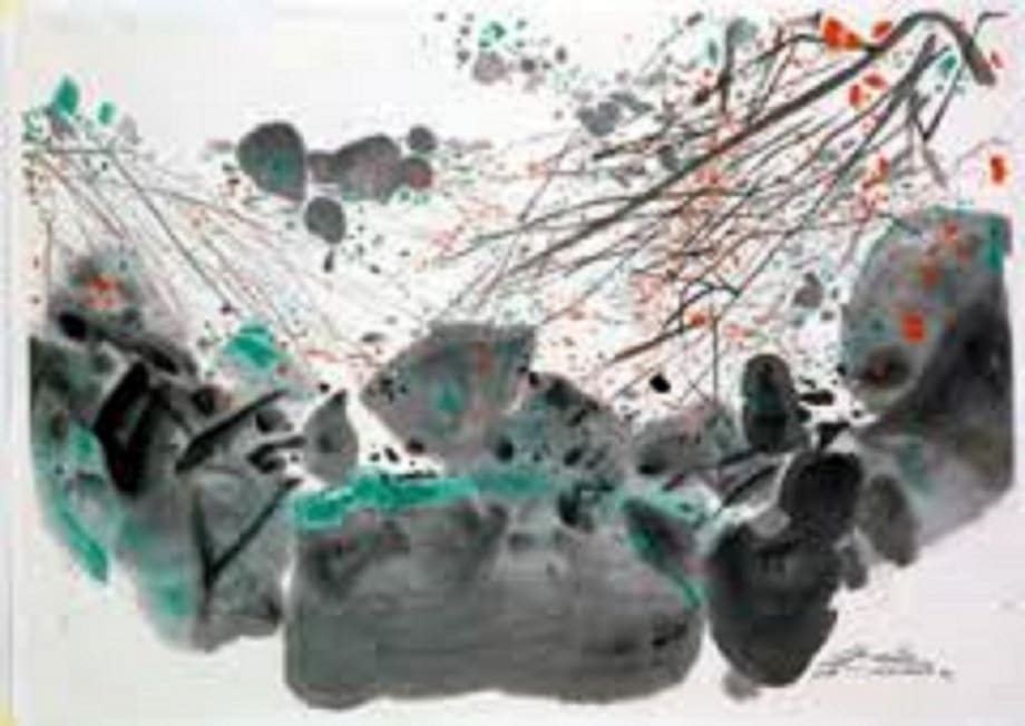 Mar 08 , No 14 by Chu Teh-Chun