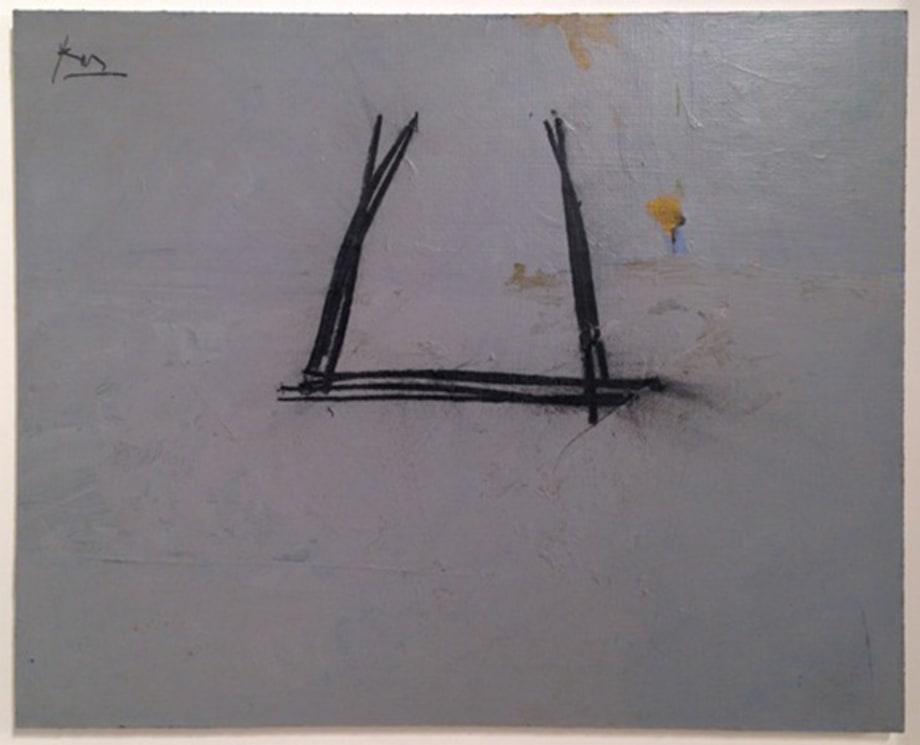 Grey Open by Robert Motherwell