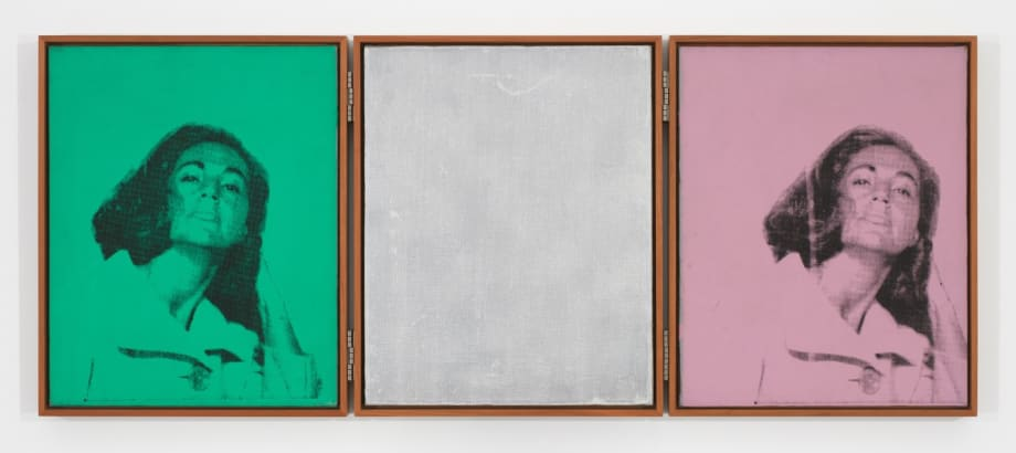 Ethel Scull Triptych by Andy Warhol