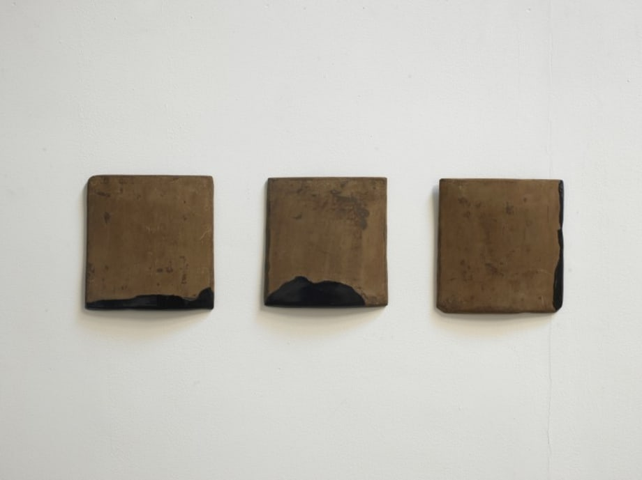 Tile Remnan-1, Tile Remnan-2, Tile Remnan-3 by Su Xiaobai