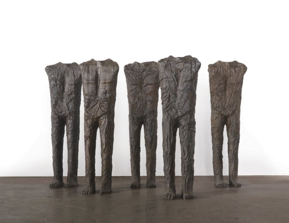 Standing Figures by Magdalena Abakanowicz