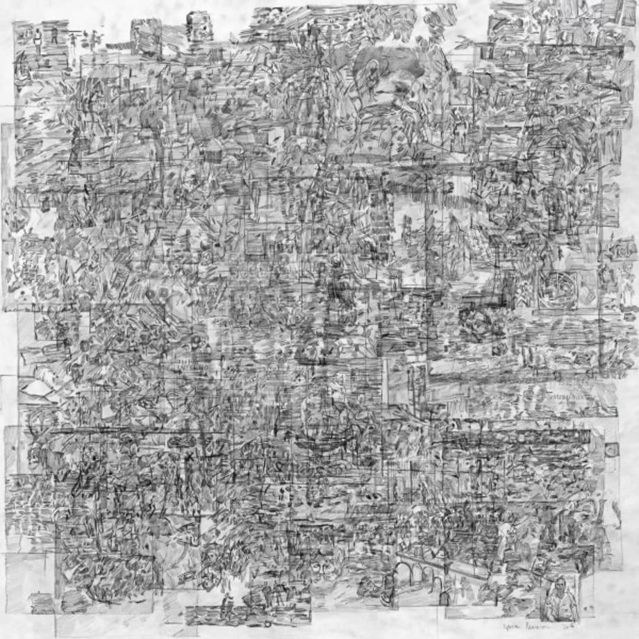 All Images from Robert Rauschenberg: Thirty-Four Illustrations for Dante's Inferno by Ciprian Muresan