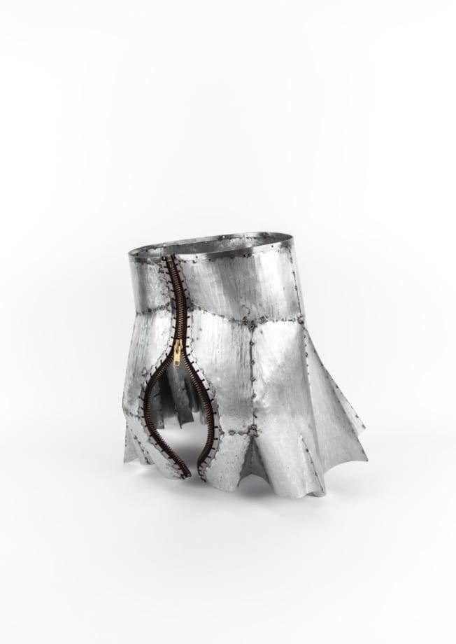 Armour Skirt III by Naiza H. Khan
