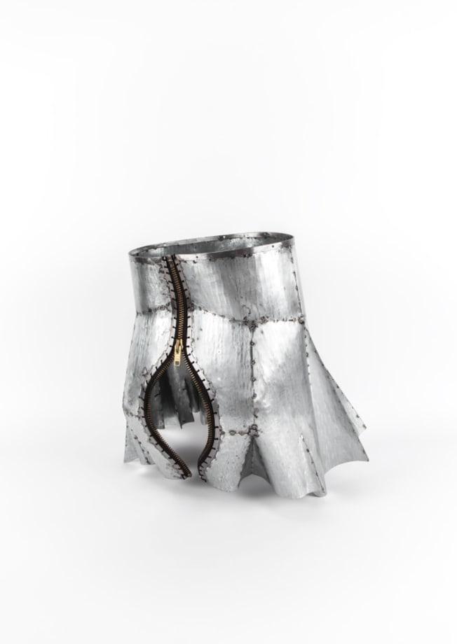 Armour Skirt IV by Naiza H. Khan