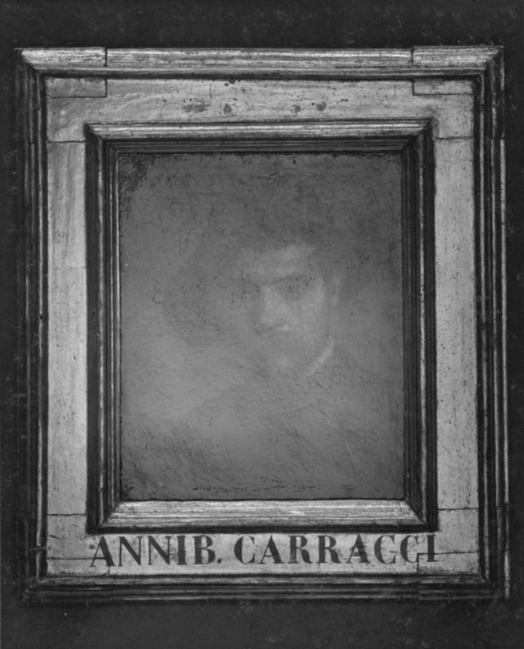 Autoritratto 1, Annibale Carracci by Yuji Ono