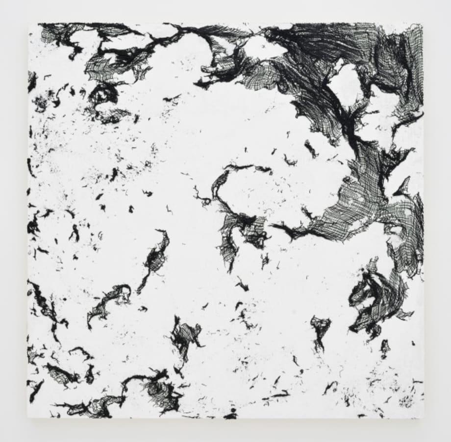 Dust, lamp black 2 by Yoriko Takabatake