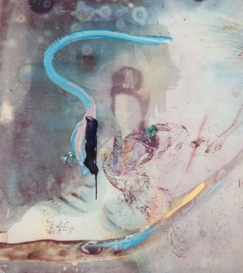 Untitled (Chinese) by Julian Schnabel