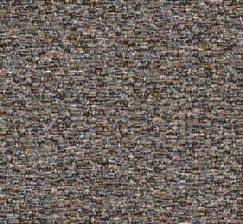 1000 Queues by Shilpa Gupta