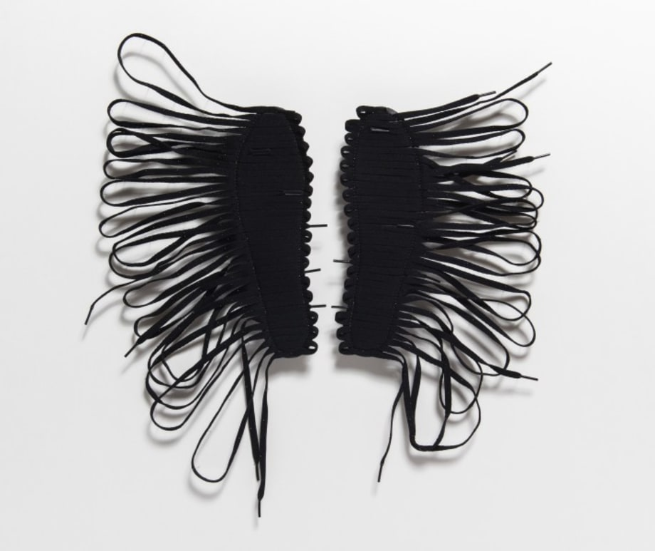 Sting like a Bee by Brian Jungen