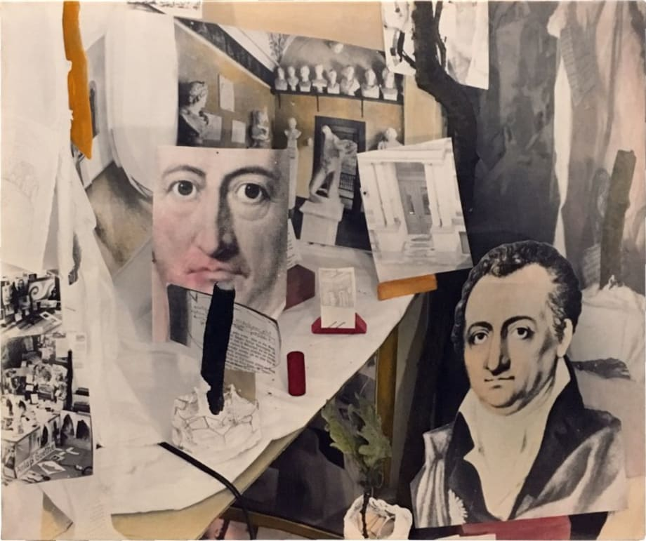 Objects of Contemplation on the Theme of Admiration – Reason: Goethe by Anna Oppermann