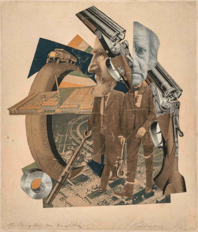 Hochfinanz by Hannah Höch