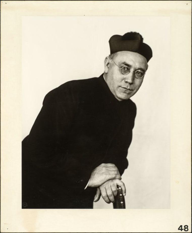 Catholic priest, 1927 by August Sander